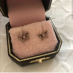 Juicy Couture ribbon earrings